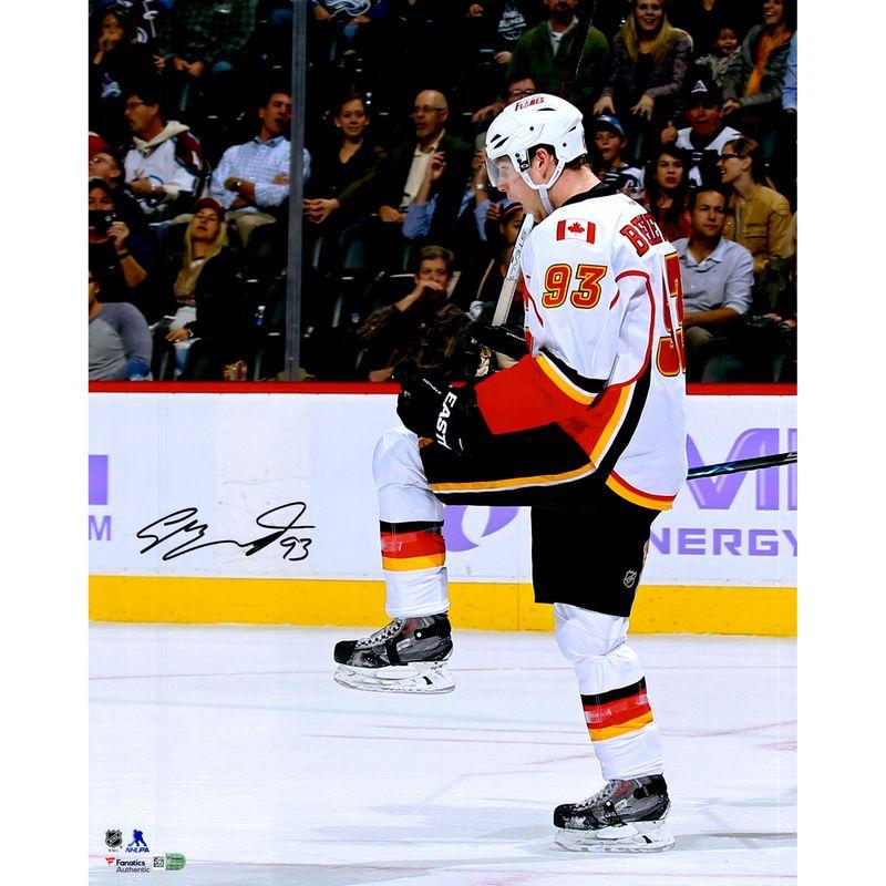 Sam Calgary Flames Fanatics Authentic Autographed