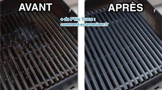 3 recettes magiques pour nettoyer et d graisser la grille du barbecue facilement trucs et - Nettoyer les grilles du four ...