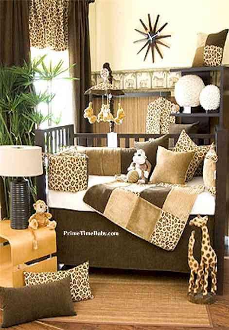 Baby Safari Jungle Nursery Baby Boy Room Ideas