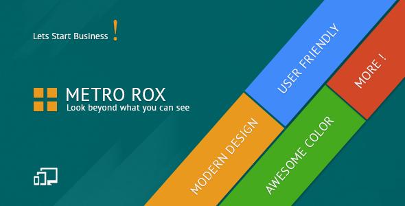 Metro Rox HTML5 WordPress Multipurpose Theme | Best Templates ...