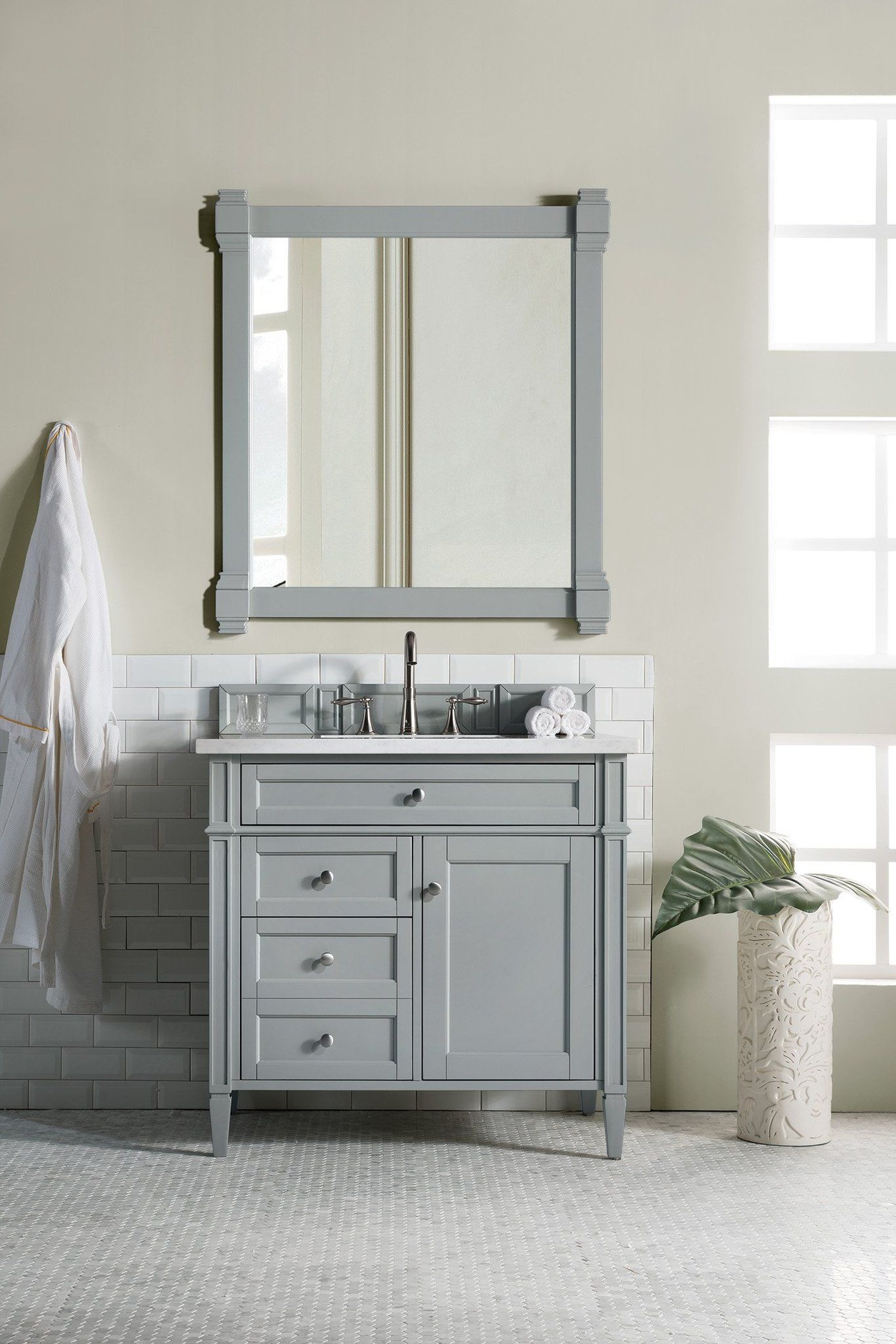 Brittany 36 Single Bathroom Vanity With Images Small Bathroom
