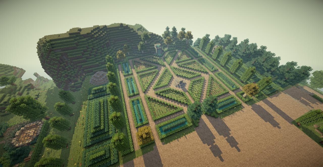 Flower garden | Ideas for Minecraft | Pinterest ...