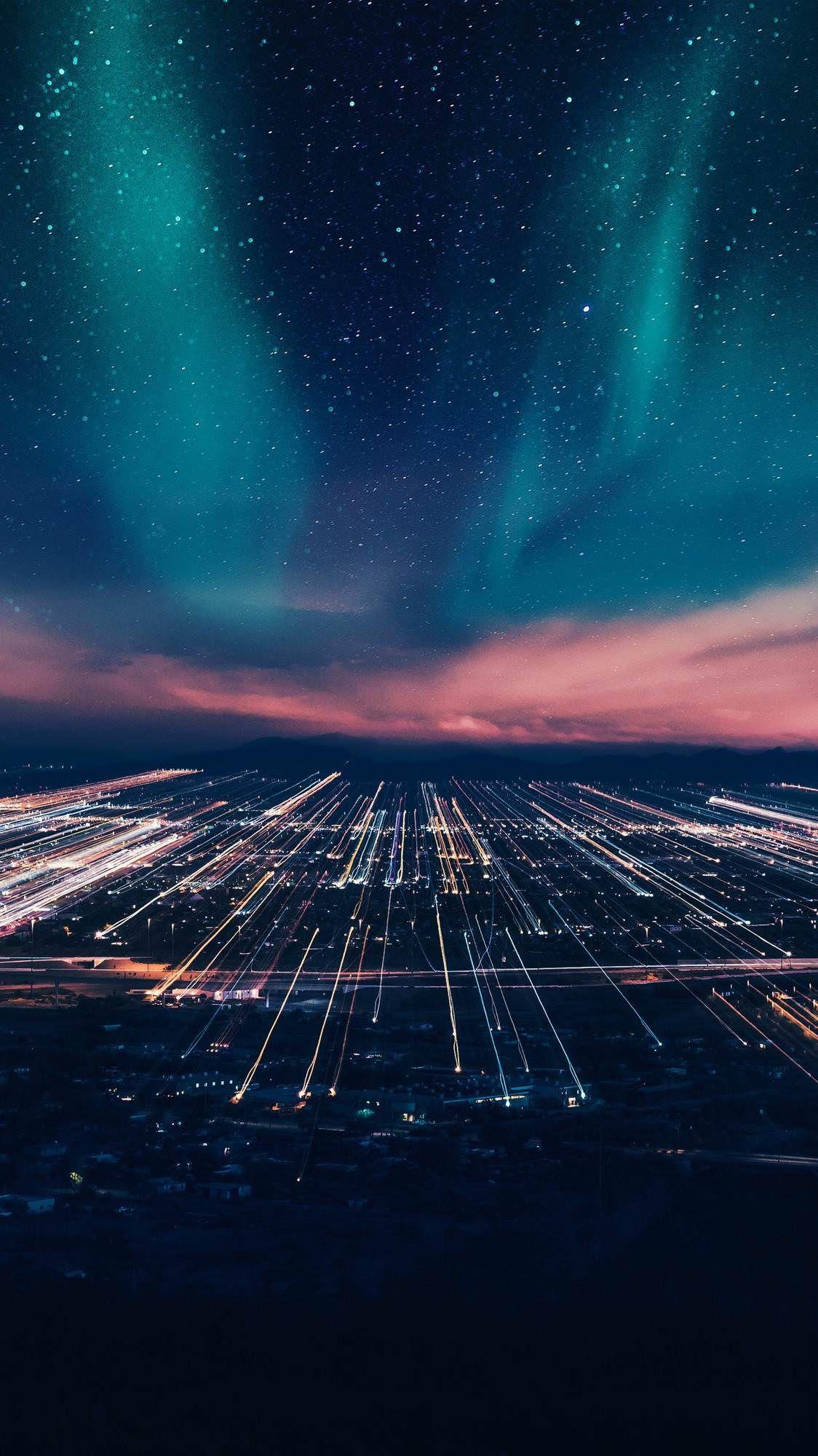 Polar lights by Bill Jasper