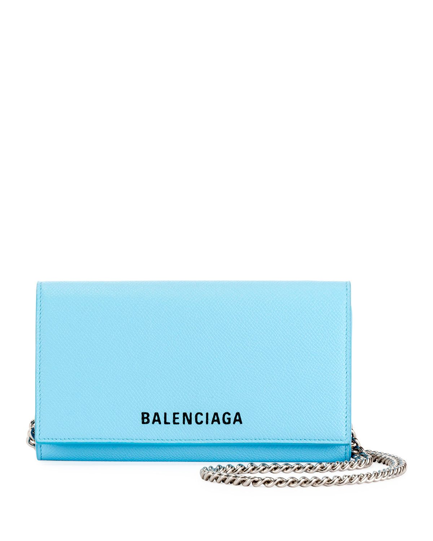 Balenciaga Ville Phone On Chain Calfskin Wallet Bag Balenciaga Wallet Bag Bags Balenciaga Wallet