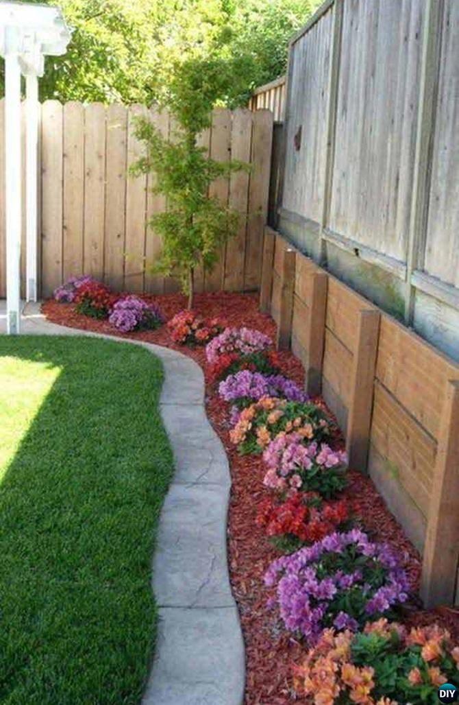 Merveilleux Wide Concrete Paver Garden Edging   20 Creative Garden Bed Edging Ideas  Projects Instructions