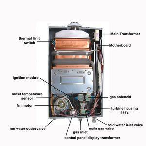 Instant Water Heater Parts Home Improvement Instant