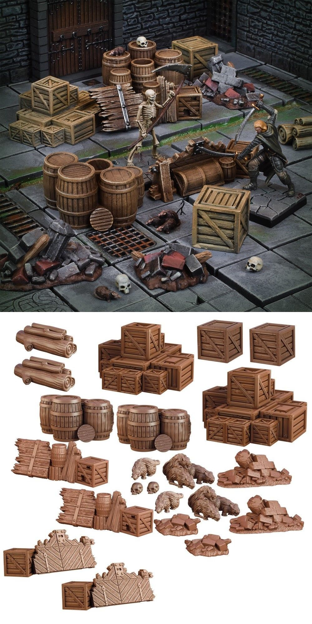 TerrainCrate 28mm Fantasy Scenery Mantic Games Dungeon Essentials
