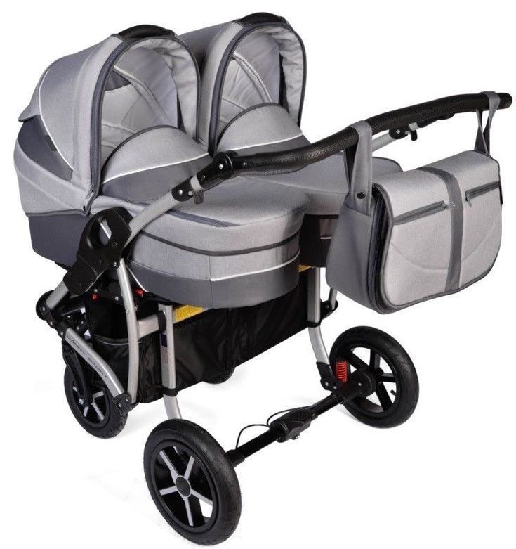 Double Twin Pram Buggy Kinderwagen Duo Travel System Leinen Kinderwagen Kinderwagen Autositz Amp Twin Baby Girls Baby Girl Strollers Twin Pram