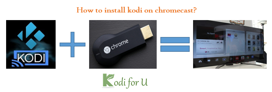 How to install kodi on chromecast with android or windows