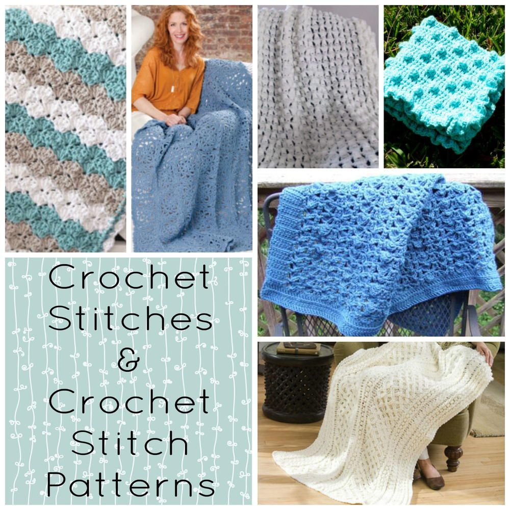 Crochet Stitches & Crochet Stitch Patterns