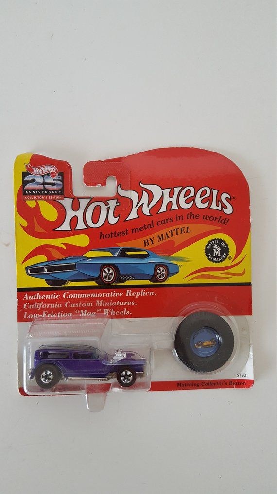 Vintage 25th Anniversary Hot Wheels Redlines Authentic Hot Wheels Vintage Hot Wheels Hot Wheels Toys