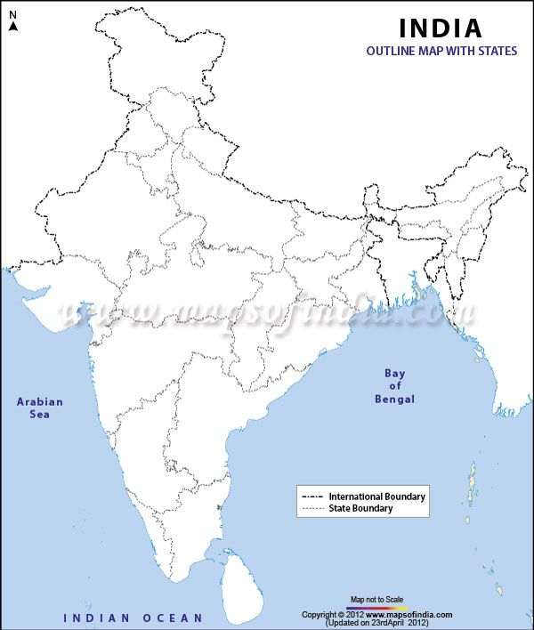 India Outline Map INDIA-SCHOOL Pinterest Outlines and School - copy interactive world map amazon