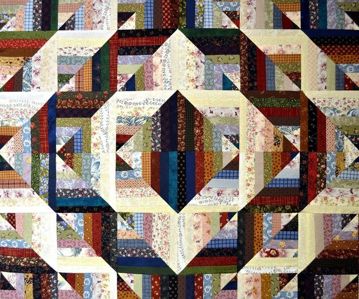 Find This In Shop Log Cabin Quilt Blocks Quilts Art Quilts