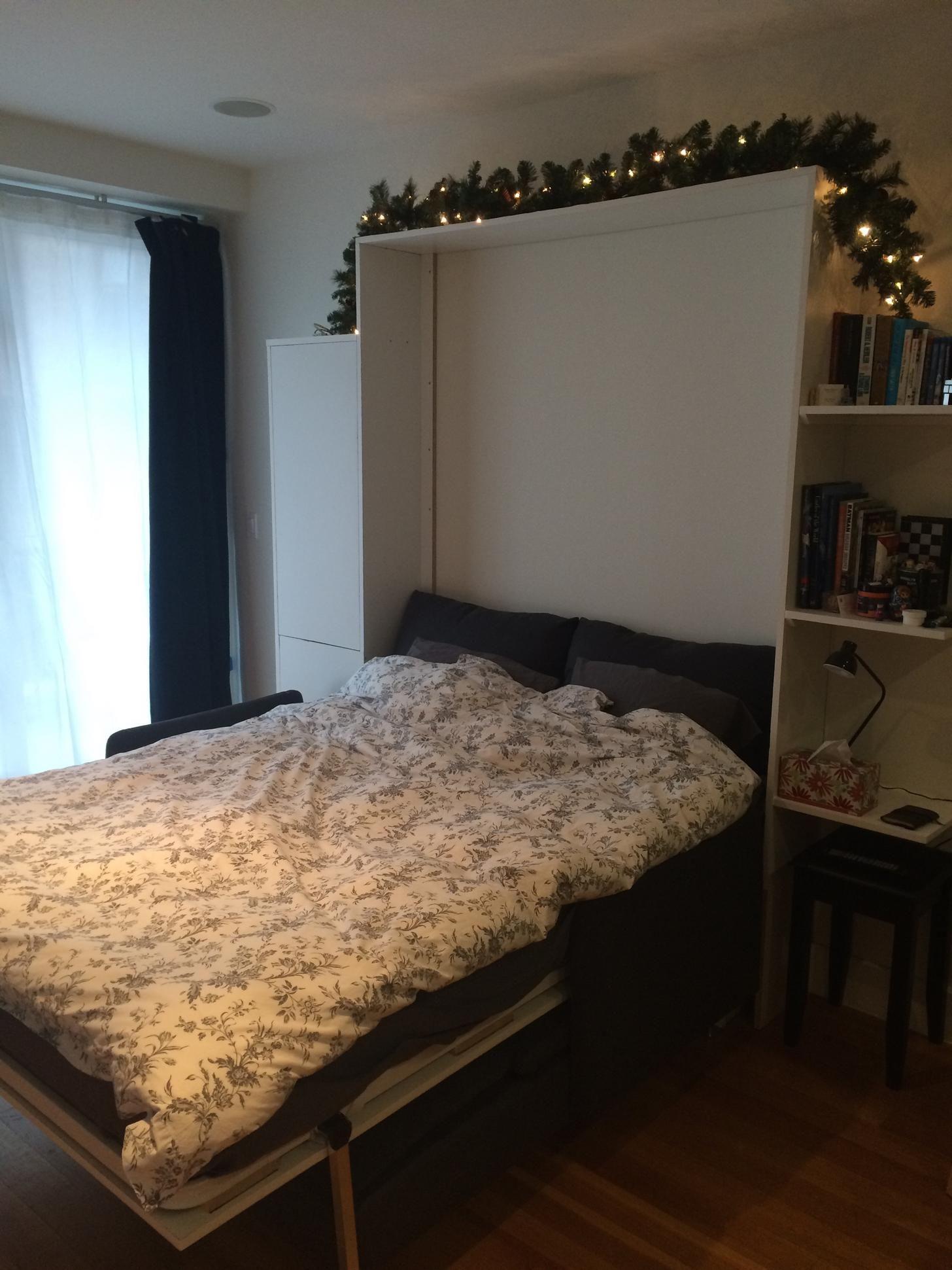 DIY Wall Combo Murphy bed sofa