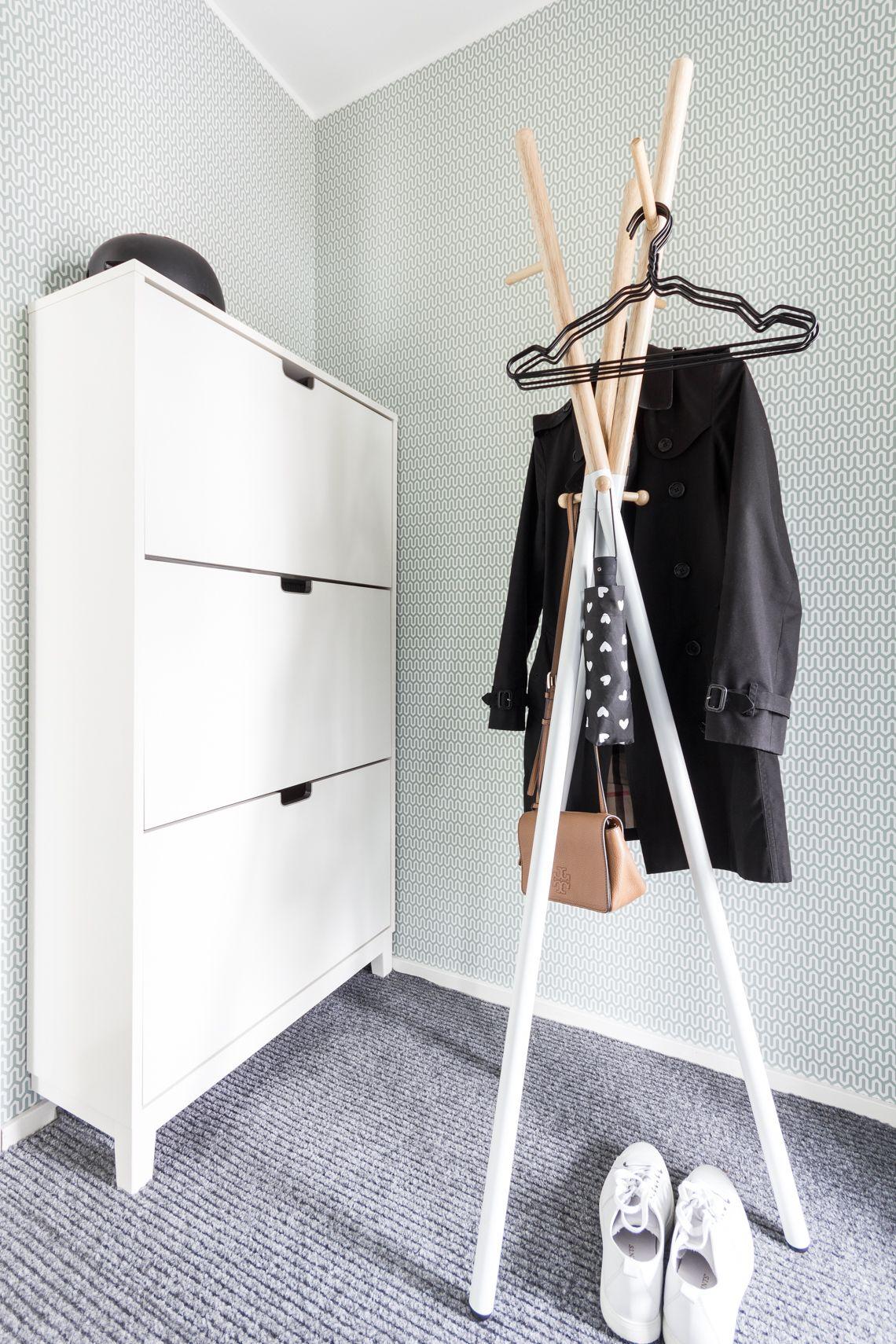 Hallway Ellos Vox Clothes Rack Ikea Stall Lisbet E