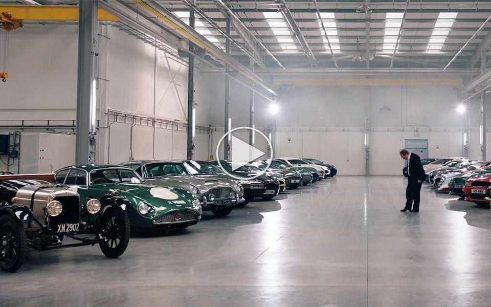 Aston Martin viser, hvordan 600 mio. kr. af deres biler ser ud
