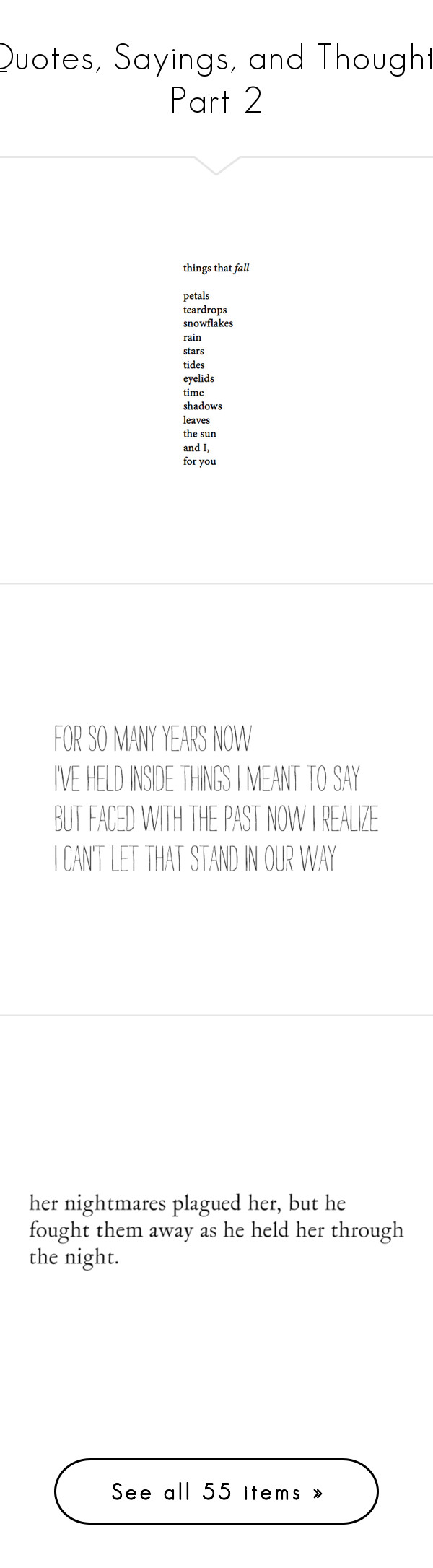 """Quotes, Sayings, and Thoughts Part 2"" by blondypup ❤ liked on Polyvore featuring words, text, quotes, fillers, backgrounds, magazine, phrases, doodles, saying and scribble"
