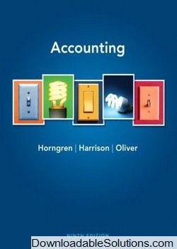 solution manual for accounting 9th edition by charles t horngren rh pinterest com management accounting horngren solutions manual management accounting horngren solutions manual