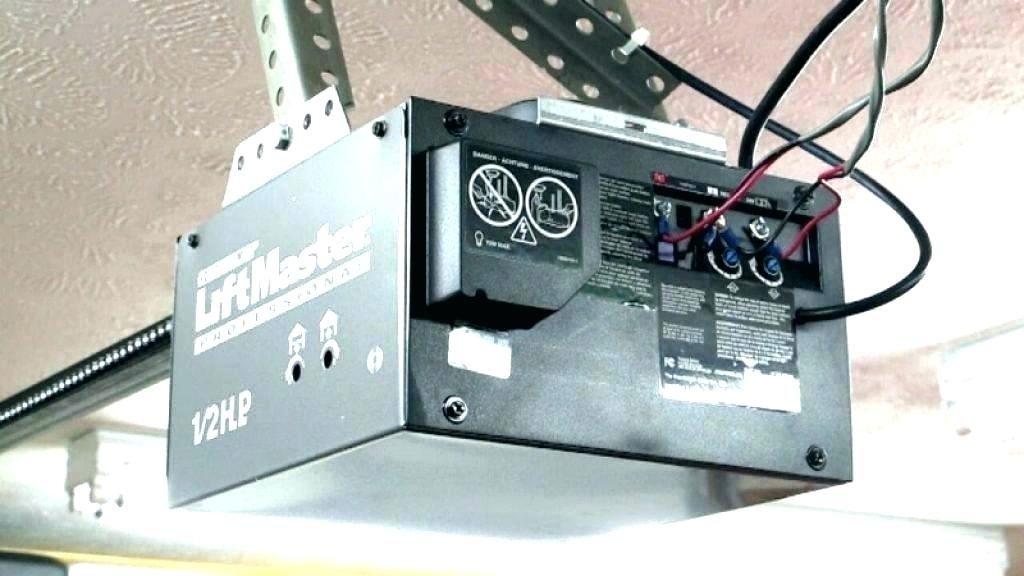 Liftmaster 1 3 Hp Garage Door Opener Troubleshooting Di 2020