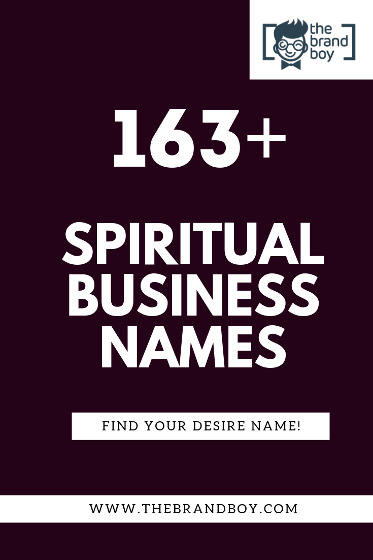 363 Inspiring Spiritual Business Names Ideas Thebrandboy Com