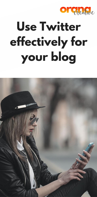 Using Twitter Effectively For Your Blog Twitter For Business Social Media Marketing Plan Marketing Strategy Social Media