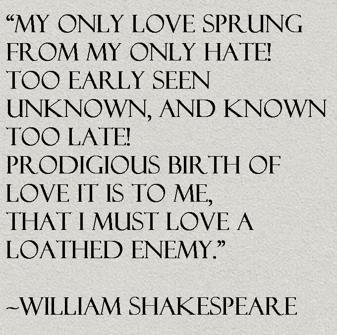 Shakespeare Quotes About Love: William Shakespeare Quote About Love