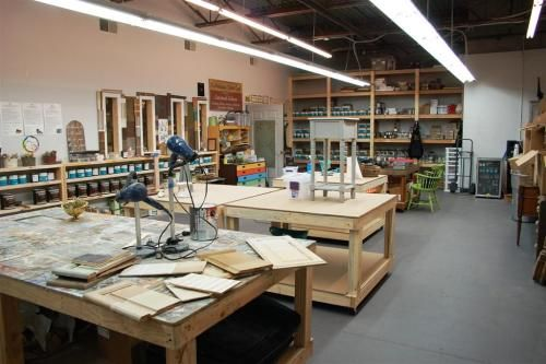 furniture painting studio ART STUDIO Pinterest Painting studio