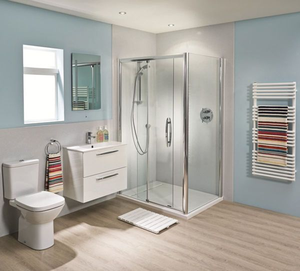 Install Shower Wall Panels Instead Of Tiles Uk Bathrooms Bathroom Shower Walls Shower Panels Bathroom Layout