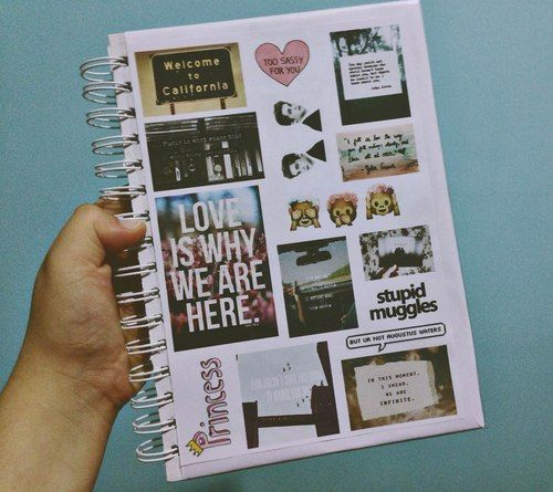 Tumblr notebooks tumblr notebooks journal inspo pinterest schule hausaufgabenheft und - Schulprojekte ideen ...