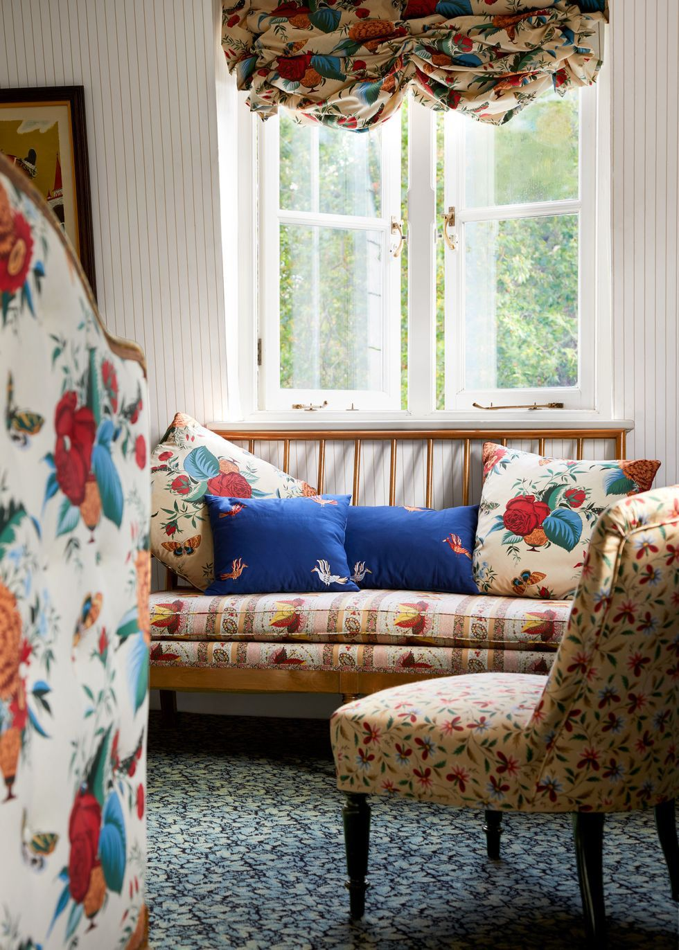 This Amazing London Home Is a Master Class in Patterns and ...
