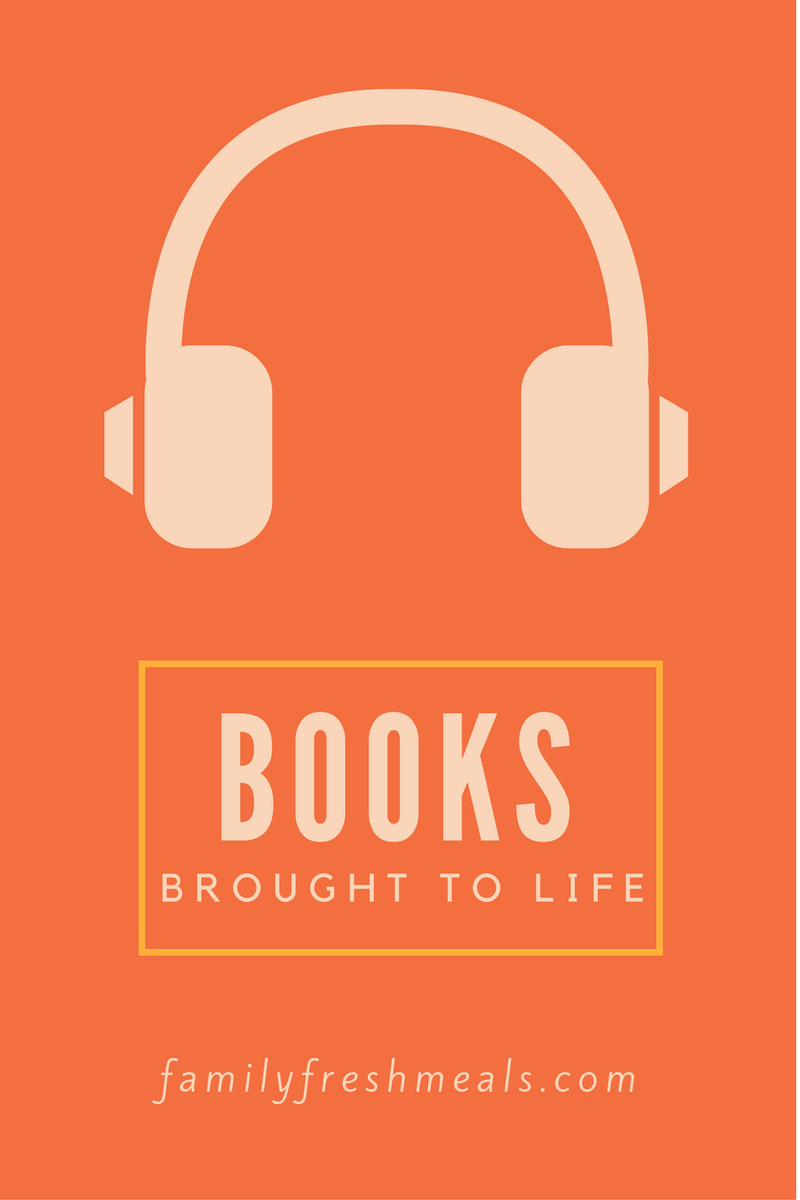 Bringing Books to Life with Audible Family Fresh Meals