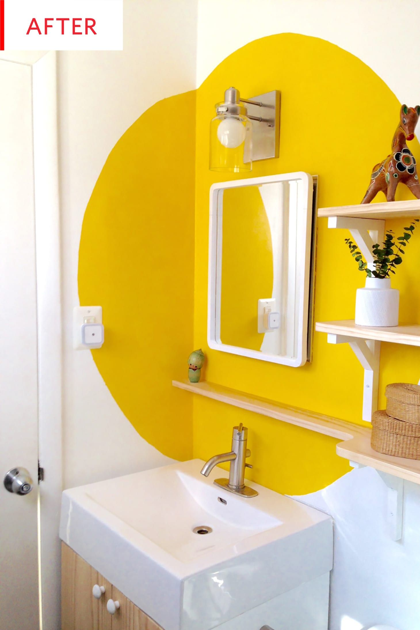 Before And After This 130 Bathroom Makeover Colors Outside The
