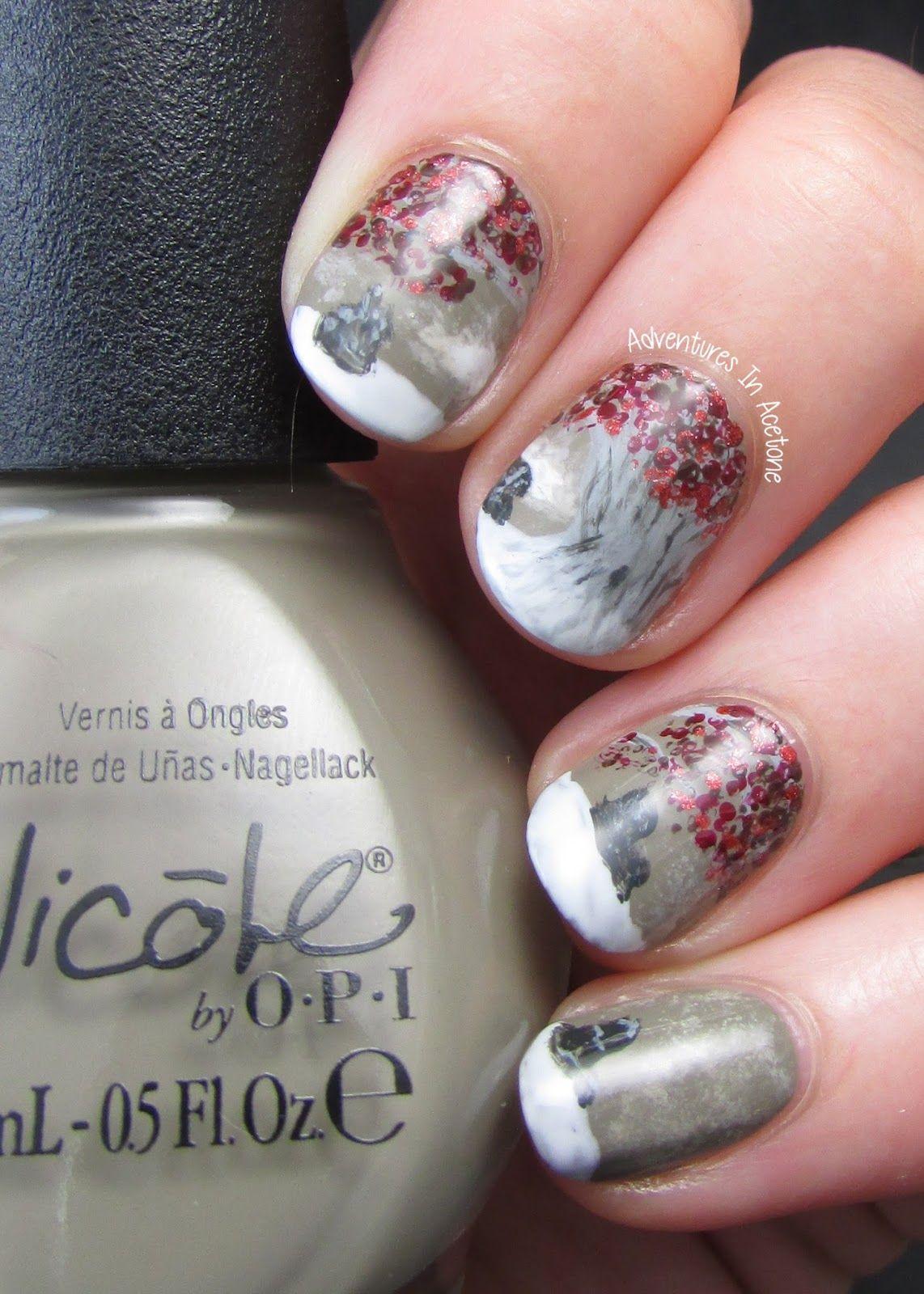 Attractive Game Of Thrones Nail Polish Illustration - Nail Art Ideas ...