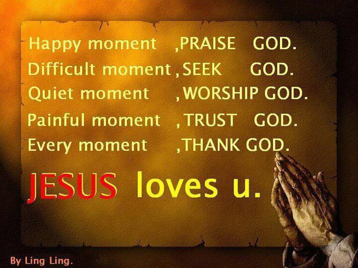 Jesus Loves you!