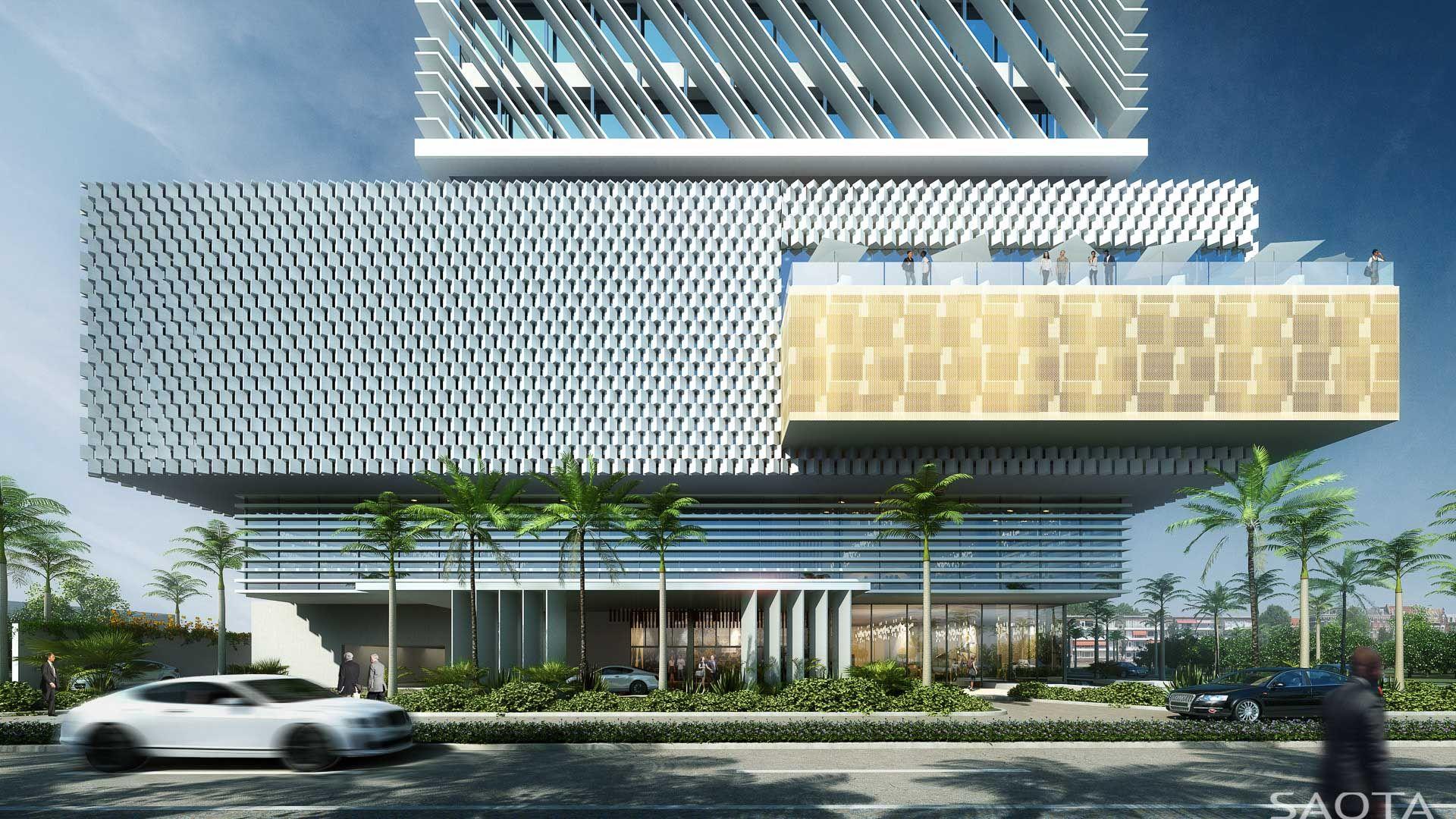 CI JARDIN HOTEL - SAOTA Architecture and Design