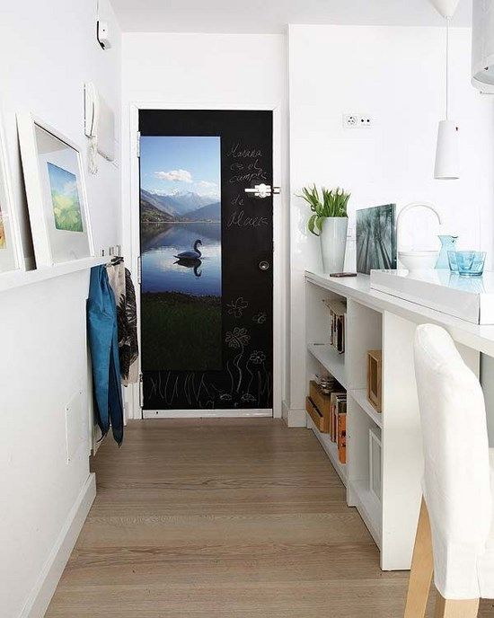 Come organizzare gli spazi in un appartamento piccolo. Idee e consigli per  arredare gli spazi in un appartamento di 40 mq (porta con disegno)