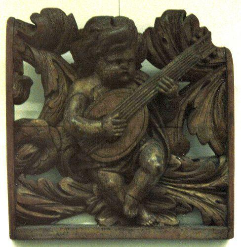 Hamburg, Museum für Hamburgische Geschichte, wood carving