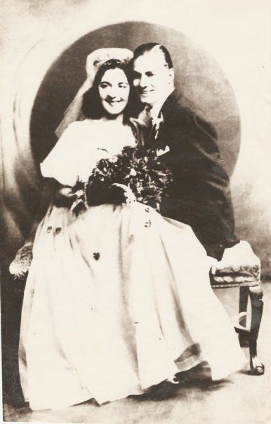 Dick and Mary Iacone Wedding in 1941