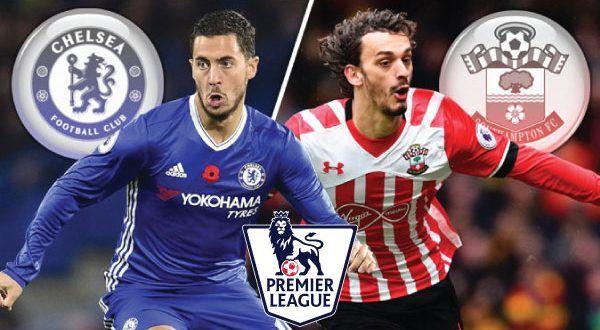 Hasil gambar untuk Chelsea vs Southampton.