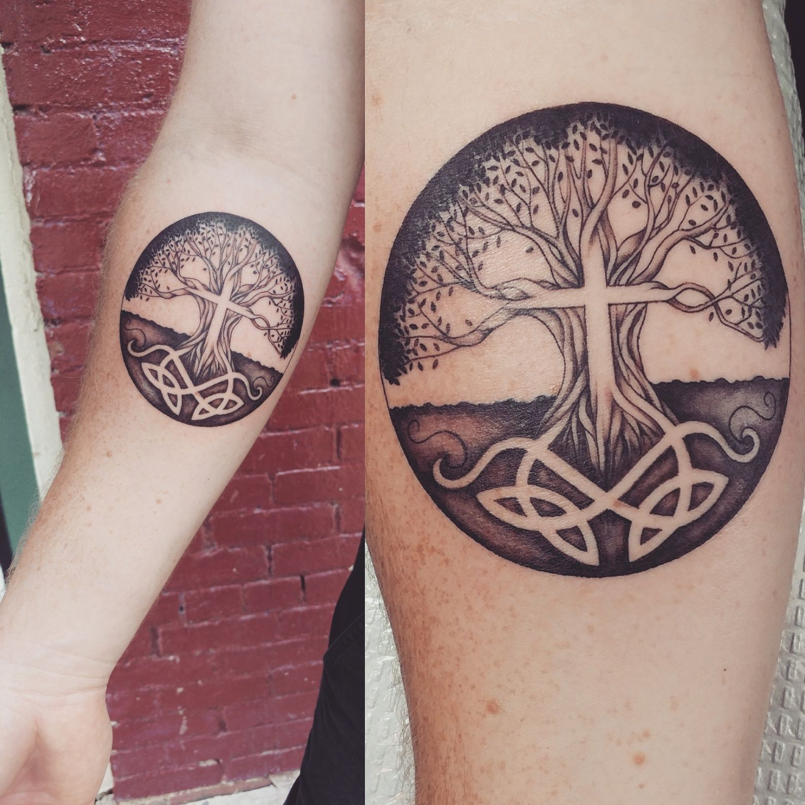 Tree of Life tattoo from Kelly prophecyink