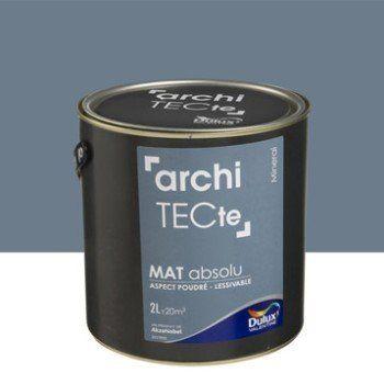 Peinture gris minerai DULUX VALENTINE Architecte 2 l | Leroy Merlin ...