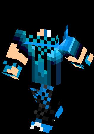 Blue Creeper Teenager Skin Minecraft Skins Minecraft Skins Cool Minecraft Skins Boy