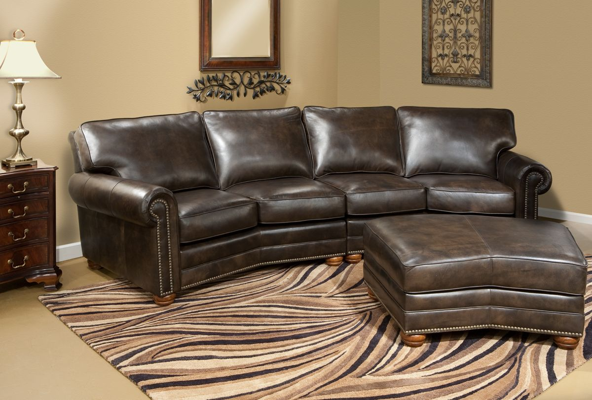 Curved Conversation Sofa Bungalow Living Rooms Furniture