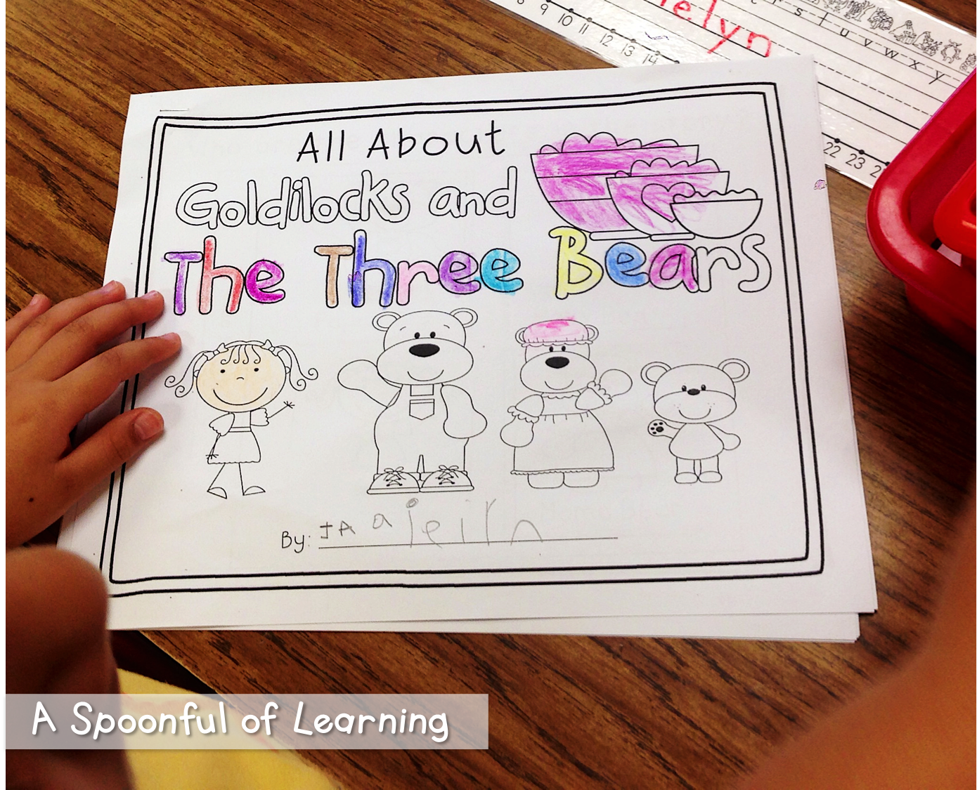 A Spoonful Of Learning Goldilocks And The Three Bears