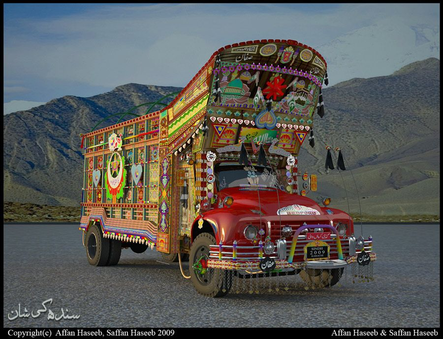 Truck Art In Pakistan From Home Garden Beau Comme Un