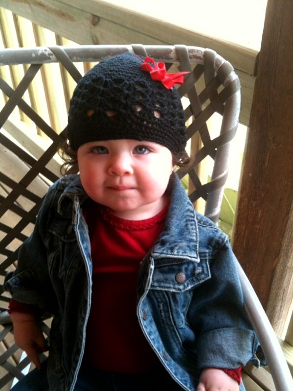 hats are sweet on lil ones....especially my sweet niece