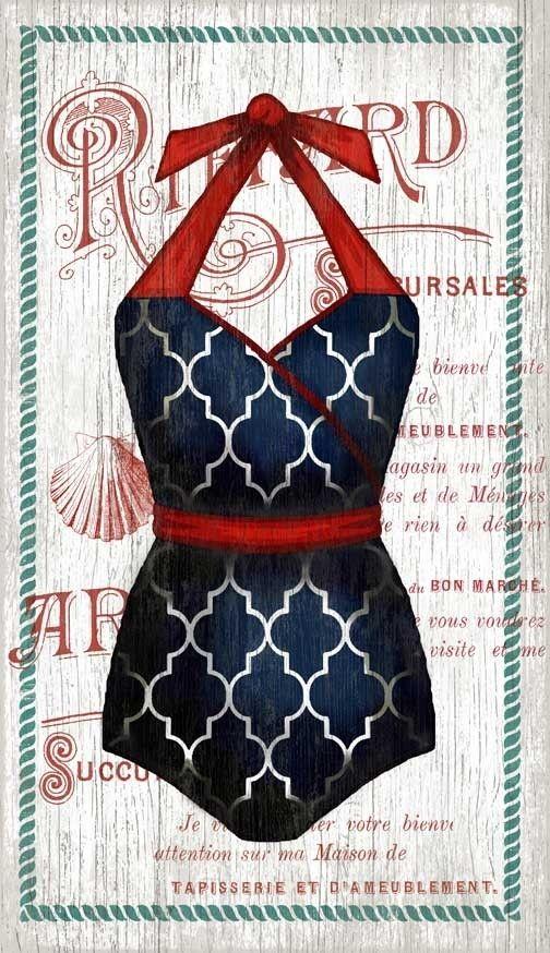 The Blue Halter Swimsuit Custom Art | Custom art, Art pieces and ...