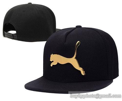0209bad6671 Puma Iron Standard Hip-Hop Snapback Caps Hats Hat Black