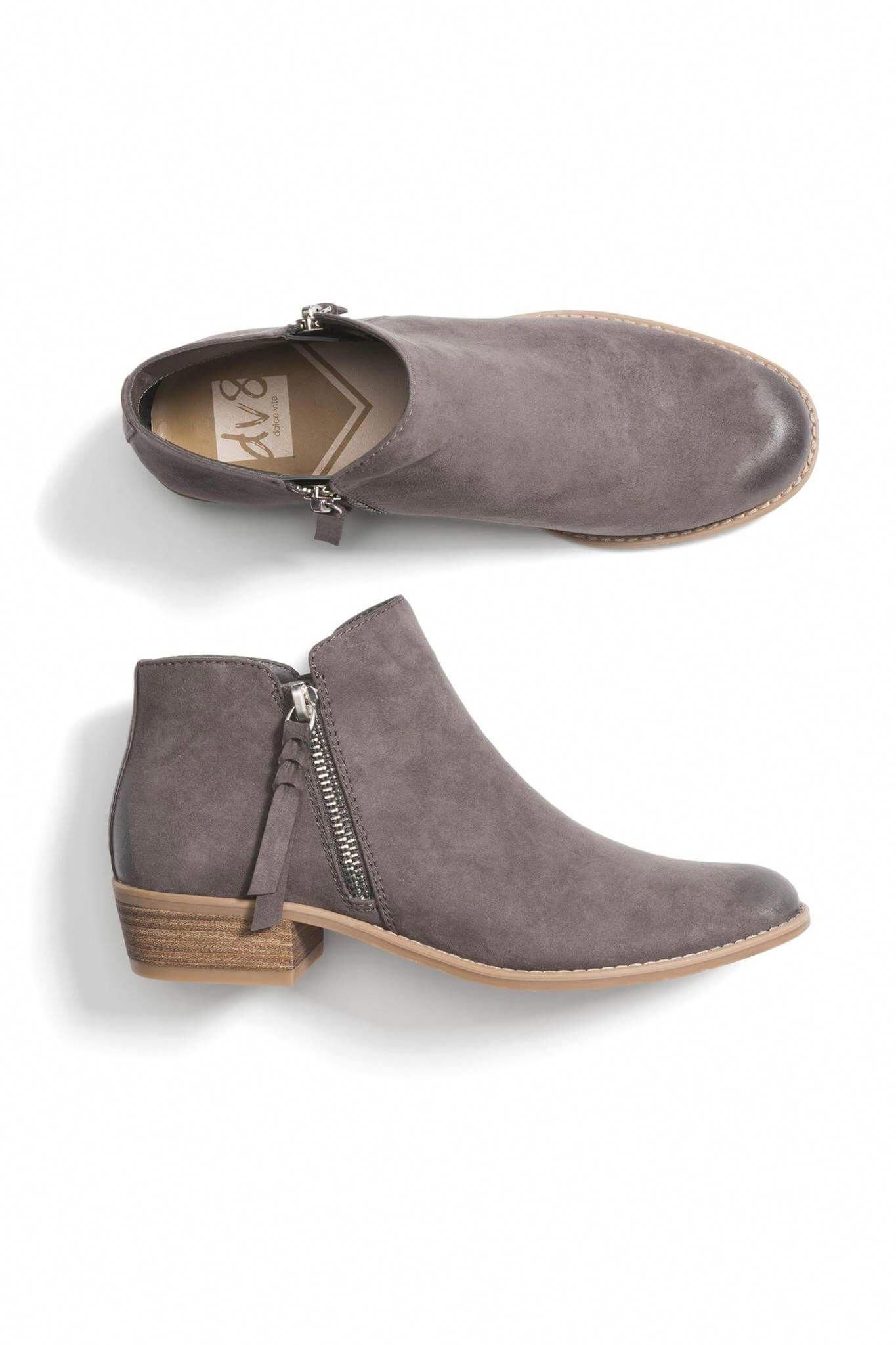 Ankle Boots Dressy Low Heel Womens