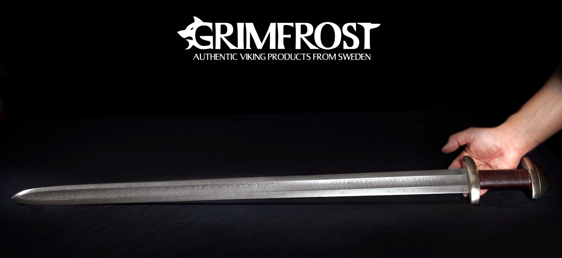 Pattern Welded Sword New Inspiration Design